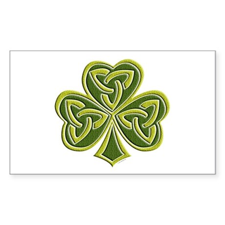 Celtic Trinity Rectangle Sticker