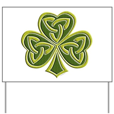 Celtic Trinity Yard Sign