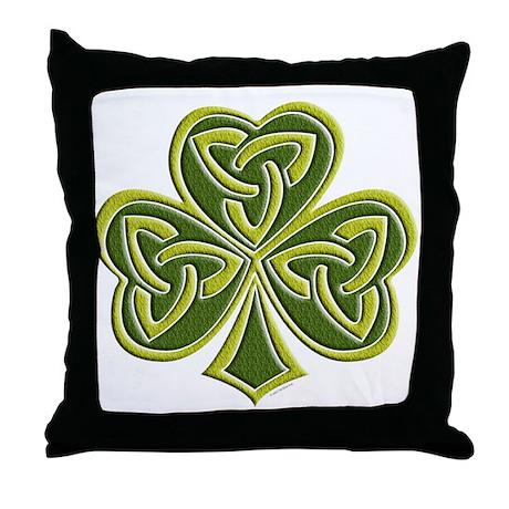 Celtic Trinity Throw Pillow
