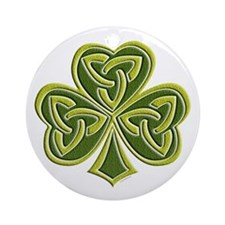Celtic Trinity Ornament (Round)