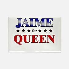 JAIME for queen Rectangle Magnet