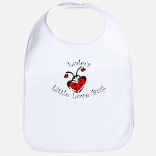 Lolo's Love Bug Ladybug Bib