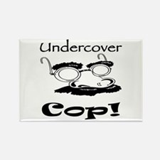 Undercover Cop Rectangle Magnet