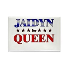 JAIDYN for queen Rectangle Magnet