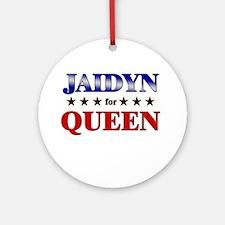 JAIDYN for queen Ornament (Round)