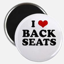 I Love Back Seats ~ Magnet