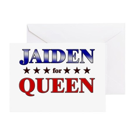 JAIDEN for queen Greeting Card