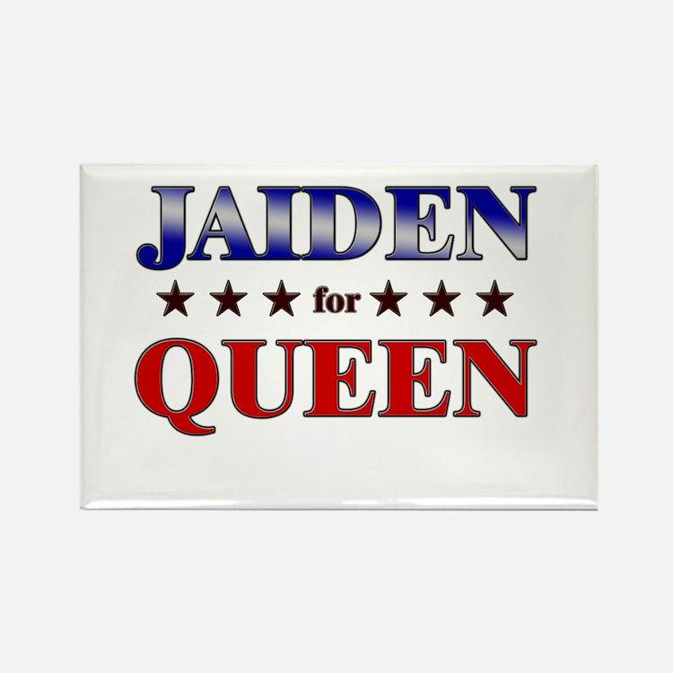 JAIDEN for queen Rectangle Magnet