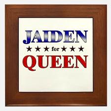 JAIDEN for queen Framed Tile