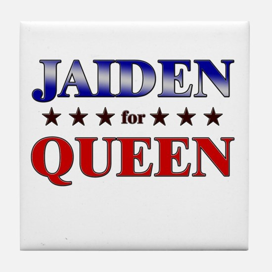 JAIDEN for queen Tile Coaster
