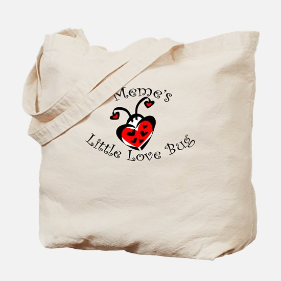 Meme's Love Bug Ladybug Tote Bag