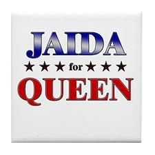 JAIDA for queen Tile Coaster