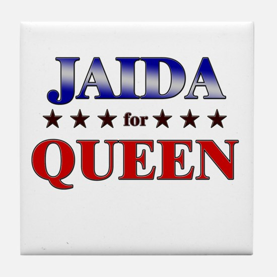 JAIDA for queen Tile Coaster