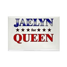 JAELYN for queen Rectangle Magnet