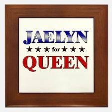 JAELYN for queen Framed Tile
