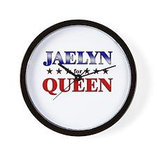 JAELYN for queen Wall Clock