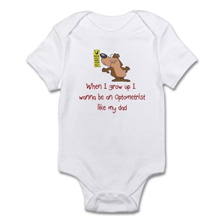 Optometrist Infant Bodysuit