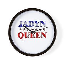 JADYN for queen Wall Clock