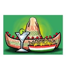 Unique Margarita Postcards (Package of 8)