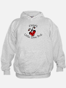 Oma's Love Bug Ladybug Hoodie