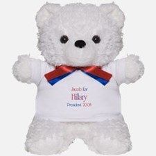 Jacob for Hillary 2008 Teddy Bear
