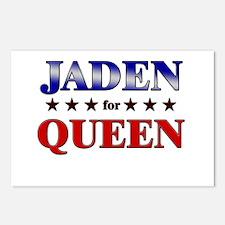 JADEN for queen Postcards (Package of 8)