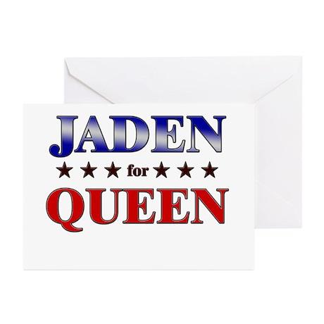 JADEN for queen Greeting Cards (Pk of 10)