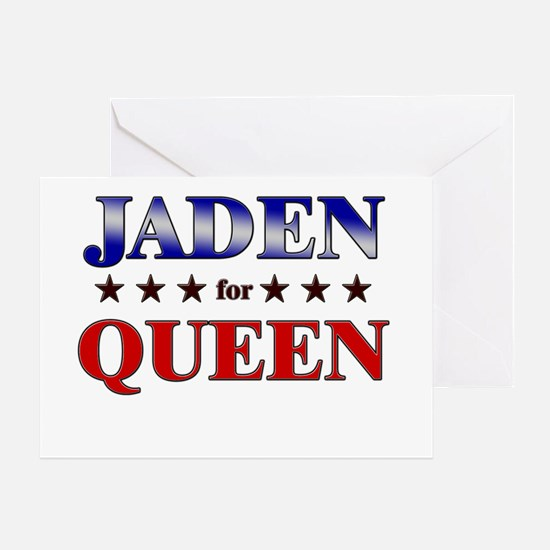 JADEN for queen Greeting Card