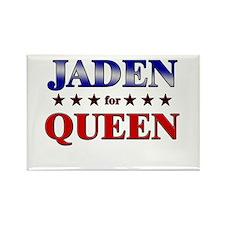 JADEN for queen Rectangle Magnet