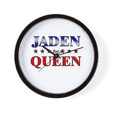 JADEN for queen Wall Clock