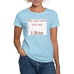 I bite Women's Light T-Shirt