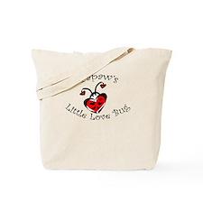 Papaw's Love Bug Ladybug Tote Bag