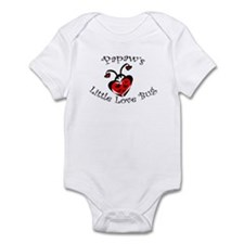Papaw's Love Bug Ladybug  Infant Bodysuit
