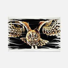Cute Burrowing owl Rectangle Magnet