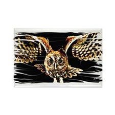 Cute Owls Rectangle Magnet (10 pack)