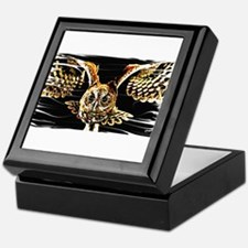 Funny Laughing owl Keepsake Box