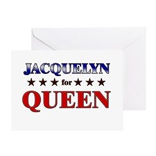 JACQUELYN for queen Greeting Card