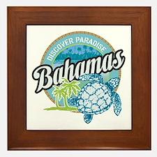 Bahamas Framed Tile