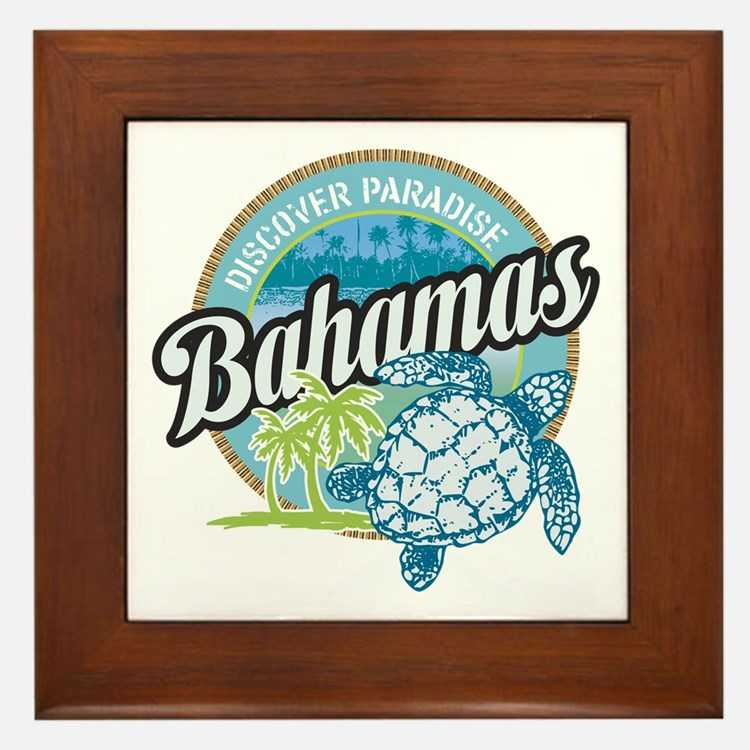 Bahamas Framed Tile