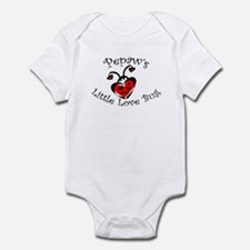 Pepaw's Love Bug Ladybug  Infant Bodysuit