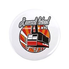 """Roosevelt Island Tram Logo 3.5"""" Button"""