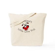 Poppa's Love Bug Ladybug Tote Bag