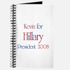 Kevin for Hillary 2008 Journal