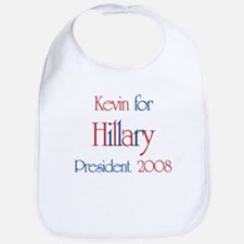 Kevin for Hillary 2008 Bib