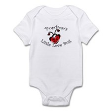 PopPop's Love Bug Ladybug  Infant Bodysuit
