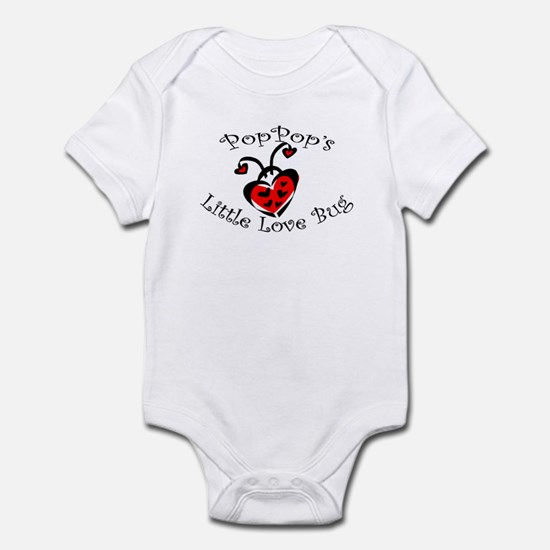 PopPop's Love Bug Ladybug  Infant Bodysuit