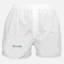 Groom - Blue Dingo Boxer Shorts