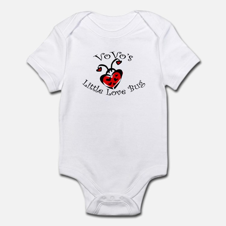 VoVo's Love Bug Ladybug  Infant Bodysuit