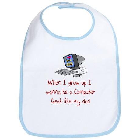 Computer Geek Bib