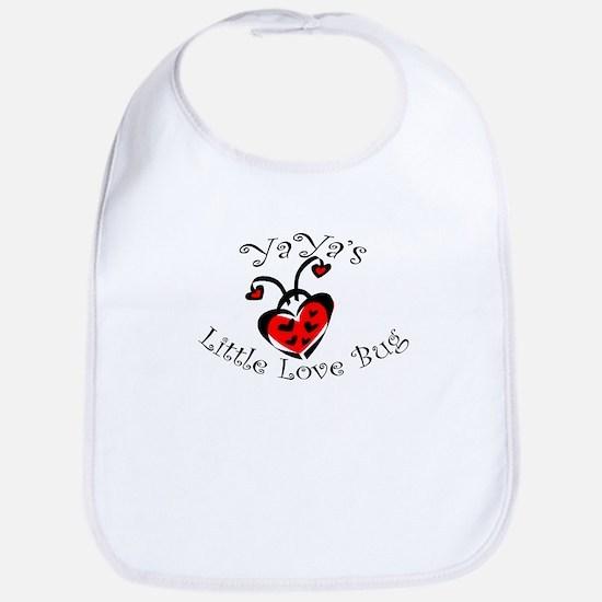 YaYa's Love Bug Ladybug Bib